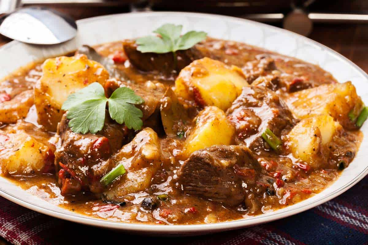 Meat and potatoes recipe