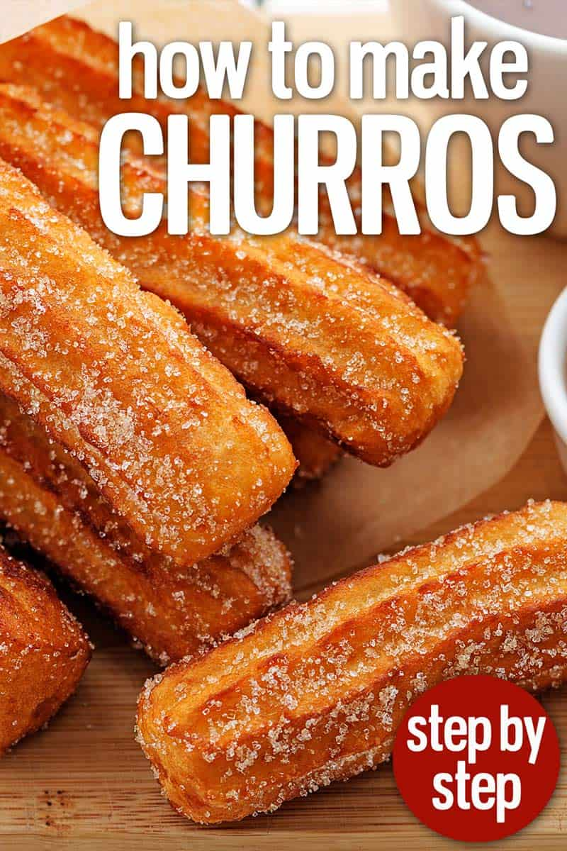 homemade churros