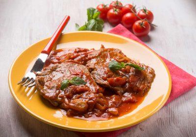 bistec en cazuela