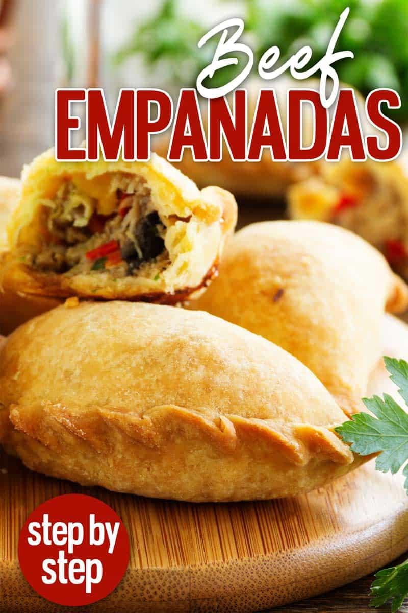 homemade beef empanadas