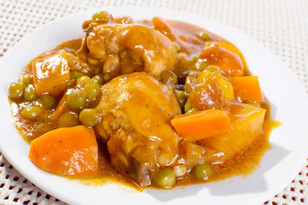 Chicken Fricassee Cuban