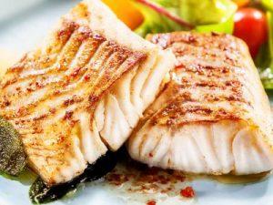 grilled fish fillet