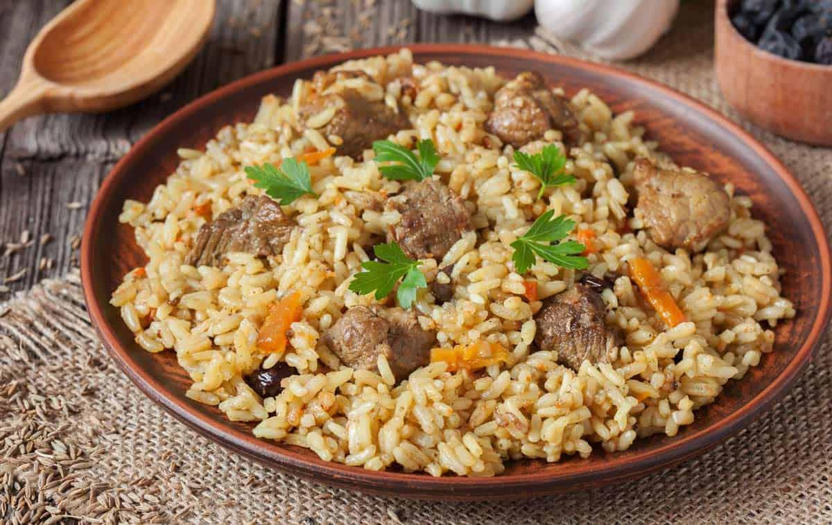 rice with pork recipe